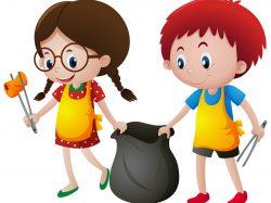 Le nettoyage du village